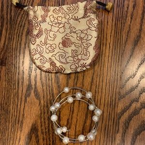 Bracelet with pouch